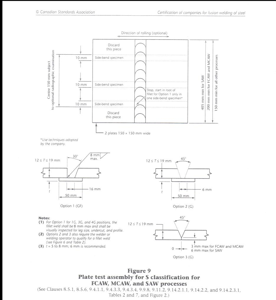 Welding Tips And Tricks View Topic Fcaw Settings Diagram Of The Test Is Option 1 Pic With Groove Fillet Weld Combo